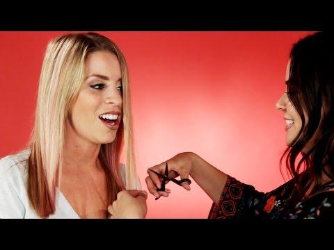 Women BFFs Cut Each Other's Hair: Part 1