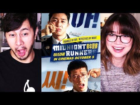 MIDNIGHT RUNNERS   Hilarious Korean Movie!!   Trailer Reaction!