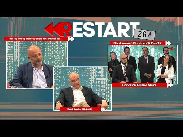 RESTART 264 - Corsa al Campidoglio: il candidato per il centrodestra Enrico Michetti