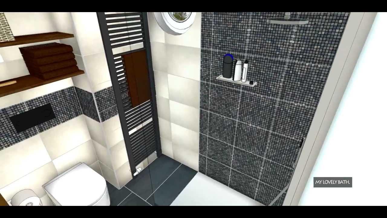 Badplanung Bad Ideen kleines Bad Badgestaltung  YouTube