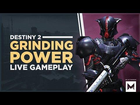 6425dcc4f57 Destiny 2  Forsaken - Grinding Power To Attempt The New Volundr Forge  Livestream