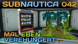 🌊 SUBNAUTICA [042] [Mal eben so verhungert] Let's Play Gameplay Deutsch German thumbnail