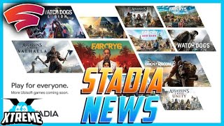 Cloud Gaming News - Stadia Uplay Games and Bethesda Exclusive on Xbox!