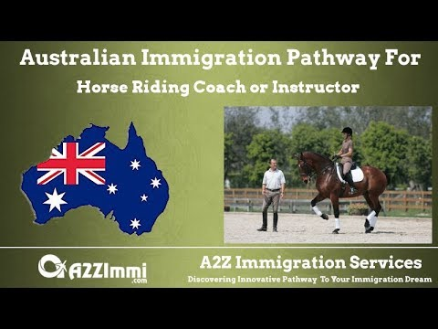 Australia Immigration Pathway for Horse Riding Coach or Instructor (ANZSCO Code: 452313)