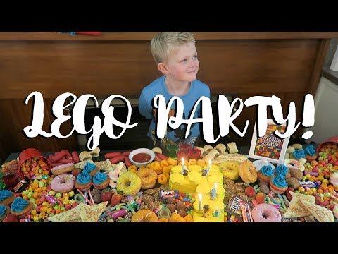 LEGO PARTY! | Romans 7th Birthday!