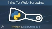 Web Scraping Tutorial - How to Scrape Modern Websites for