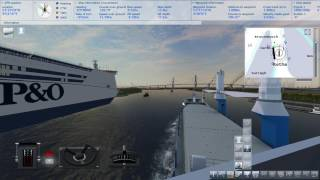 Ship Simulator 2008 Add-On: New Horizont. Gameplay
