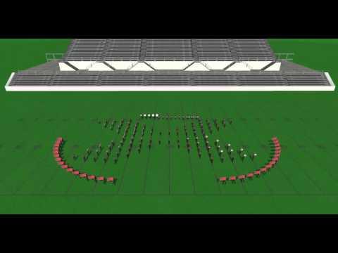 Farandole - Marching Band Drill Demo