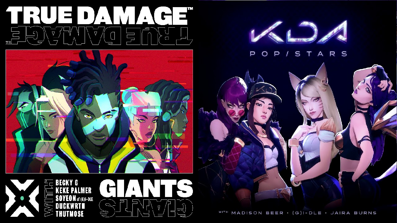 True Damage vs K/DA Mashup! [Giants x Pop/Stars]