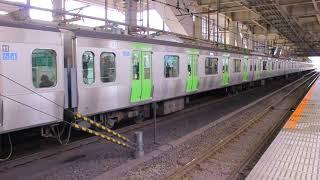 JR東日本 E235系車両 山手線 外回り 五反田駅