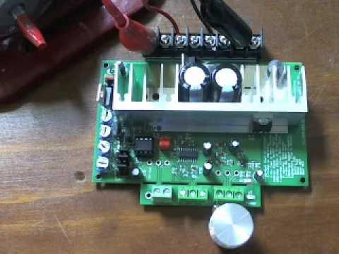 Dc 12v 32v 50a motor speed controller pwm doovi for 48v dc motor speed controller circuit