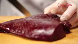 Видео рецепт о том, как правильно выбирать и приготовить говяжью печень