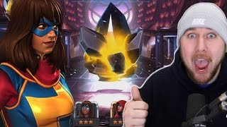 KAMALA KHAN CRYSTAL 4 STAR Hunting PART 245 | MARVEL: Contest of Champions (iOS/Android)