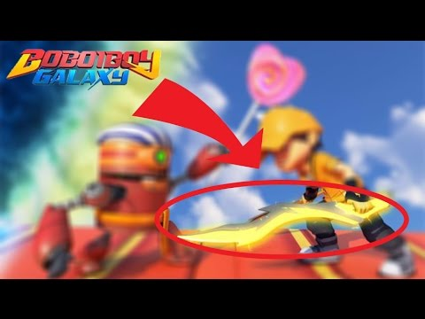 Pedang Petir Solar Boboiboy Galaxy Youtube
