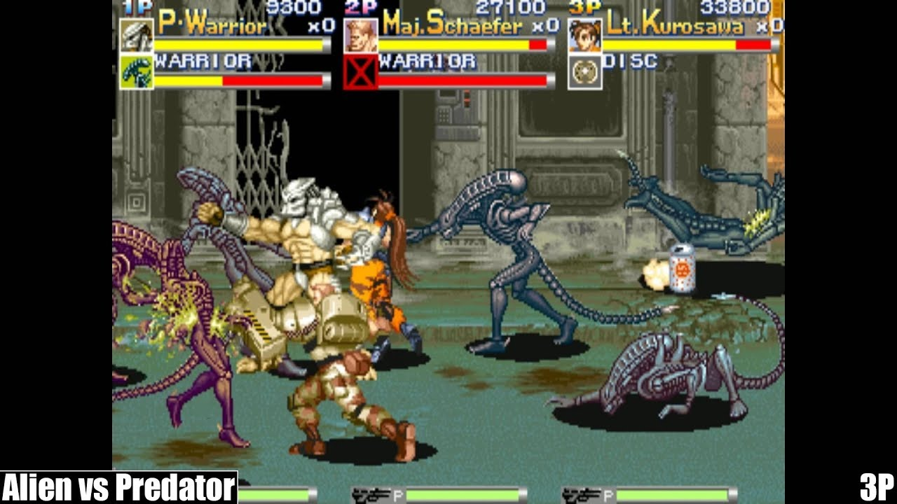 aliens vs predator arcade rom download
