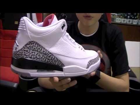 huge discount 43fc9 5e498 Stickie213 - Air Jordan 3 III White Cement 2011