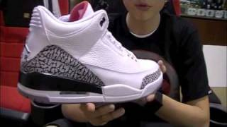 Stickie213 - Air Jordan 3 III White Cement 2011