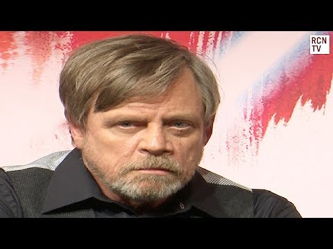 Mark Hamill Interview Star Wars The Last Jedi Premiere