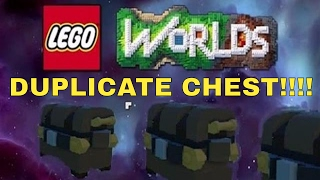 LEGO WORLD'S - How To Duplicate CHESTS!!!! - PS4 / XBOX / PC
