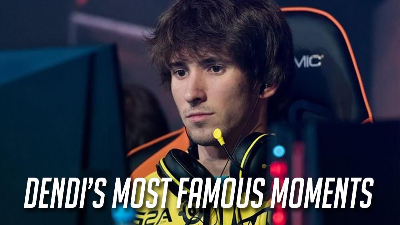 [DOTA 2] DENDI'S MOST FAMOUS MOMENTS