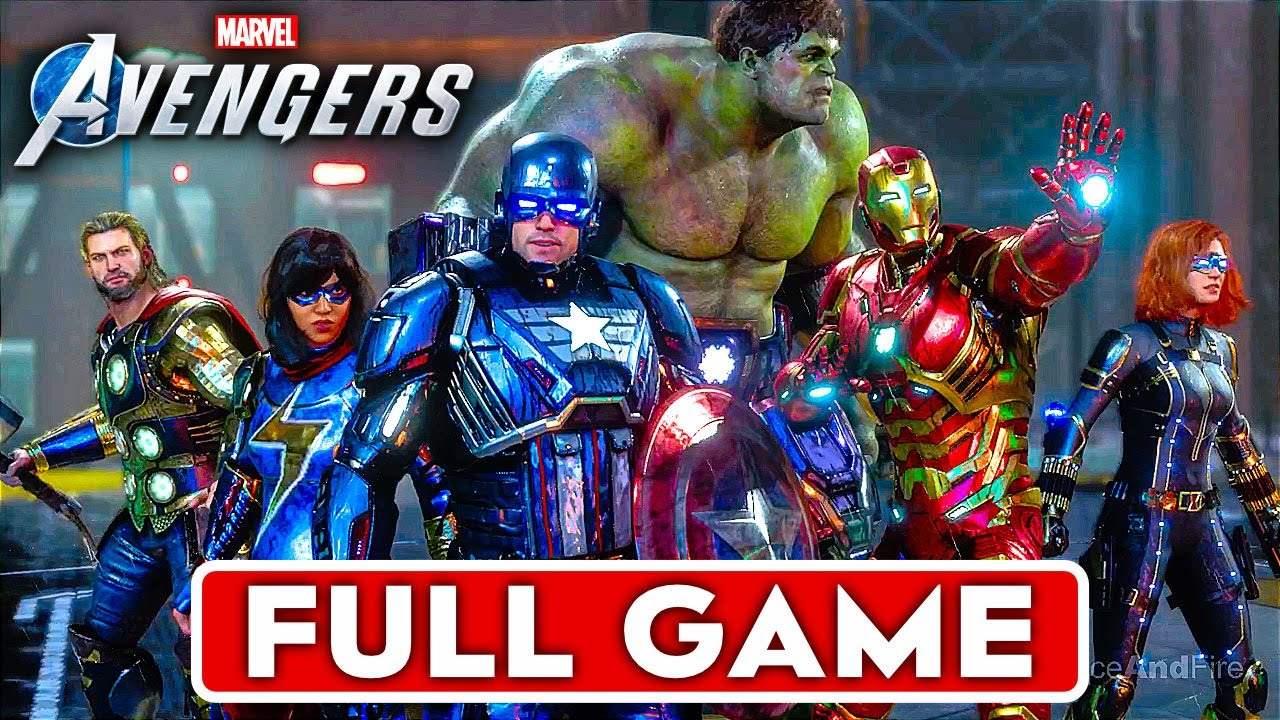 Download MARVEL'S AVENGERS Gameplay Walkthrough Part 1 FULL GAME [1080P HD PS4 PRO] - No Commentary