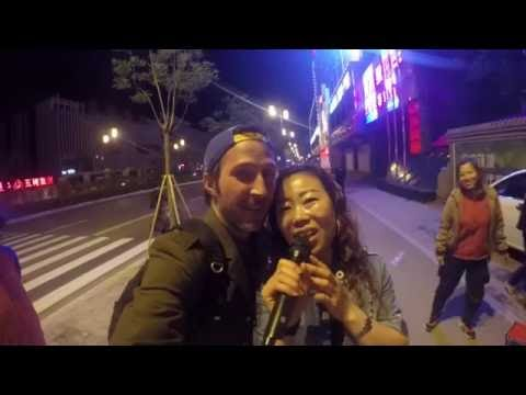 Crossing China - Datong, Shanxi - Singing in the Streets