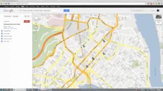 Erstellen Sie eine Reiseroute mit Google Maps - Meine Orte