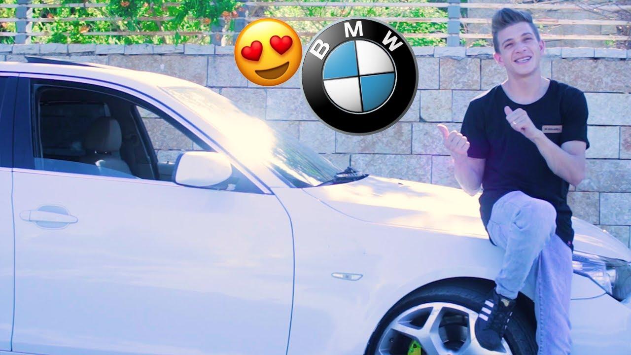 فاجأت زوجتي بسيارة أحلامها 🚘❤️ ( BMW )