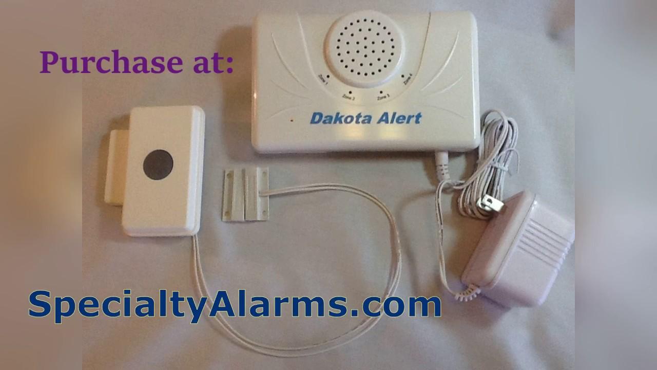 Remote Wireless Door Entry Alert Demonstration Youtube
