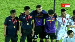 ĐT Việt Nam vs ĐT Singapore - Lễ trao giải cúp tứ hùng 2016, Việt Nam vô địch, vỡ òa hạnh phúc !!!
