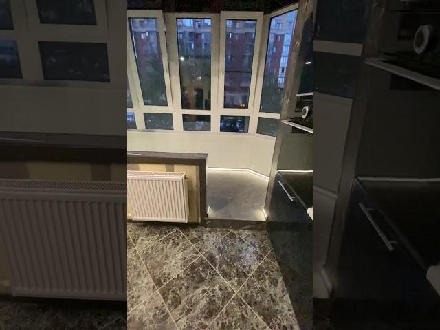 Смотреть видео Зона отдыха на балконе под ключ