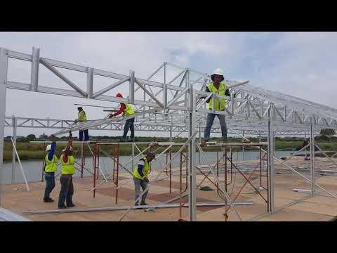 BAJA RINGAN Semarang jasa pemasangan rangka atap galvalum spandek baja ringan