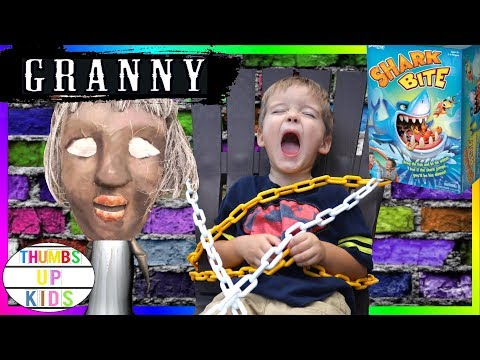 Villains GRANNY Horror Game in Real Life Granny took him! | Thumbs Up Kids