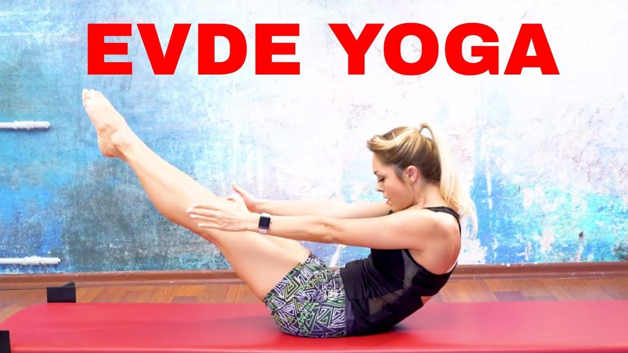Evde Beraber Yoga Yapıyoruz (Yoga Dersleri)
