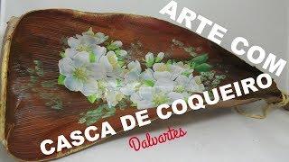ARTE COM CASCA DE COQUEIRO