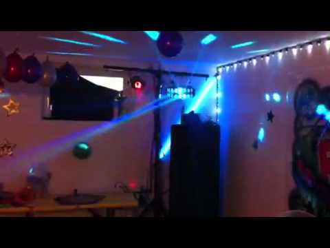 Meine Partybeleuchtung Youtube