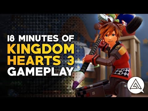 18 Minutes of Kingdom Hearts 3 Gameplay