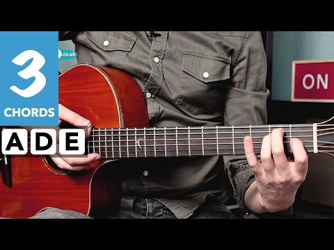 Play TEN guitar songs with 3 chords - Cooler Strumming & Riffs!