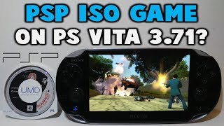 PSP ISO Game Running On 3.71 PS Vita!? Coming Soon?