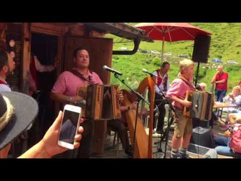 Tiroler Buam Polka Franz  im Zellbergstüberl 2018