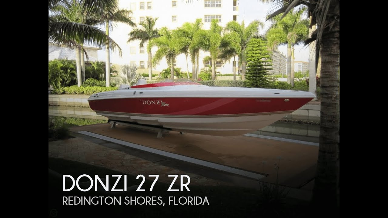 [UNAVAILABLE] Used 2009 Donzi 27 ZR in Redington Shores, Florida