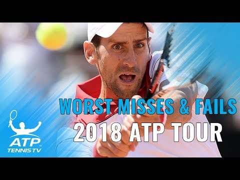 Worst Misses & Fails: 2018 ATP Tour