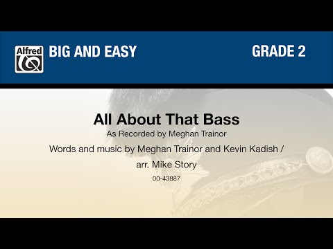 All About That Bass, arr. Mike Story - Score & Sound