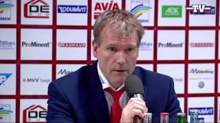 Pressekonferenz: Adler Mannheim - Schwenninger Wild Wings am 01.01.2015
