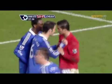 Download Ricardo Carvalho Vs Cristiano Ronaldo - FIGHT - United Vs Chelsea