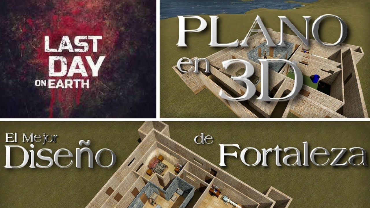primer dise o 3d de fortaleza casa en last day on earth
