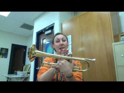 Trumpet Note F
