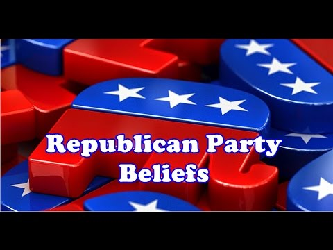 Republican Party Beliefs