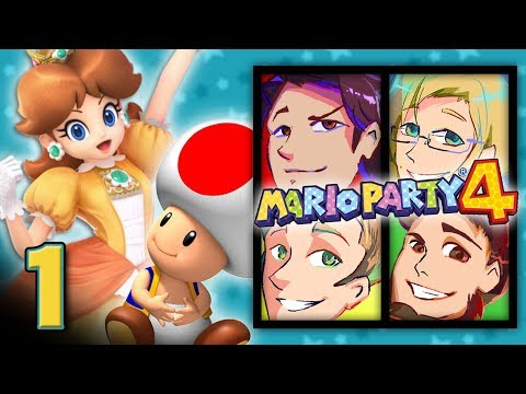 """Mario Party 4: """"Opinions"""" - EPISODE 1 - Friends Without Benefits"""