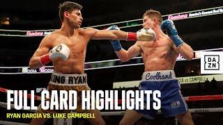 FULL CARD HIGHLIGHTS | Ryan Garcia vs. Luke Campbell